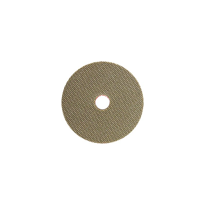 3M 2 Inch Velcro Backed 200 Grit Electroplated Diamond Disk