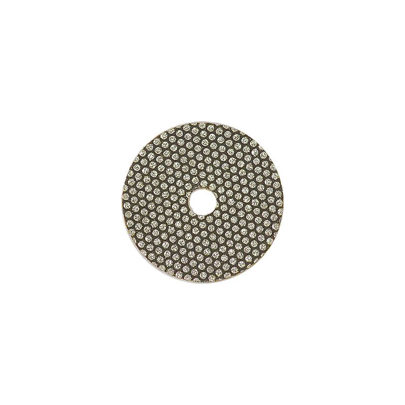 3M 2 Inch Velcro Backed 45 Grit Electroplated Diamond Disk