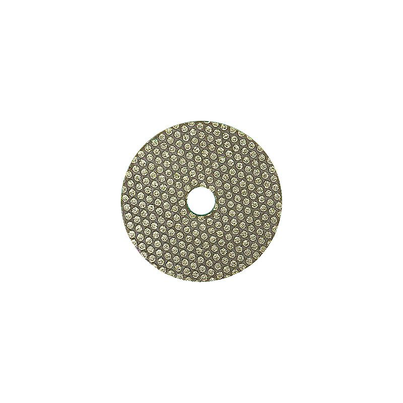 3M 2 Inch Velcro Backed 60 Grit Electroplated Diamond Disk