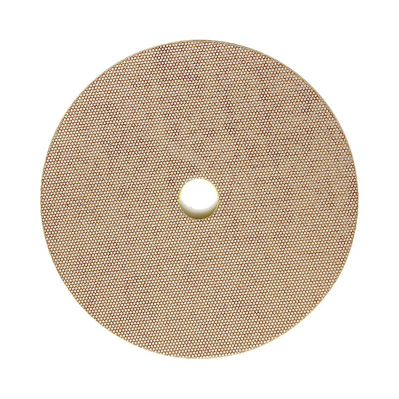 3M 4 Inch Velcro Backed 400 Grit Electroplated Diamond Disk