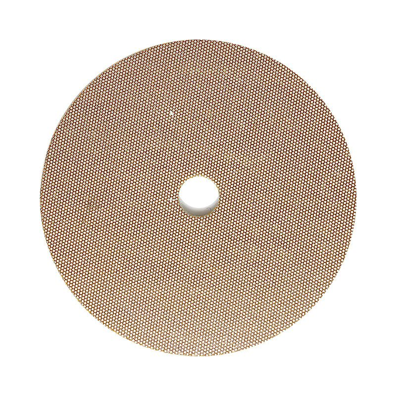 3M 4 Inch Velcro Backed 800 Grit Electroplated Diamond Disk