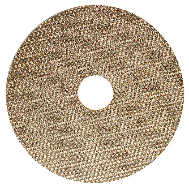 3M 5 Inch Velcro Backed 120 Grit Electroplated Diamond Disk
