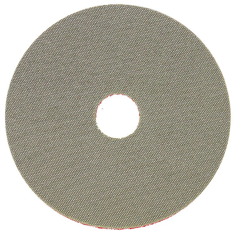 3M 5 Inch Velcro Backed 200 Grit Electroplated Diamond Disk