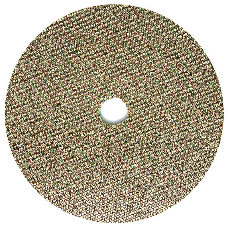 3M 5 Inch Velcro Backed 60 Grit Electroplated Diamond Disk