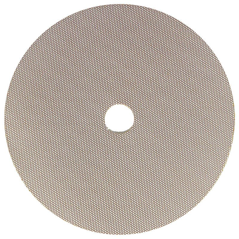 3M 5 Inch Velcro Backed 800 Grit Electroplated Diamond Disk