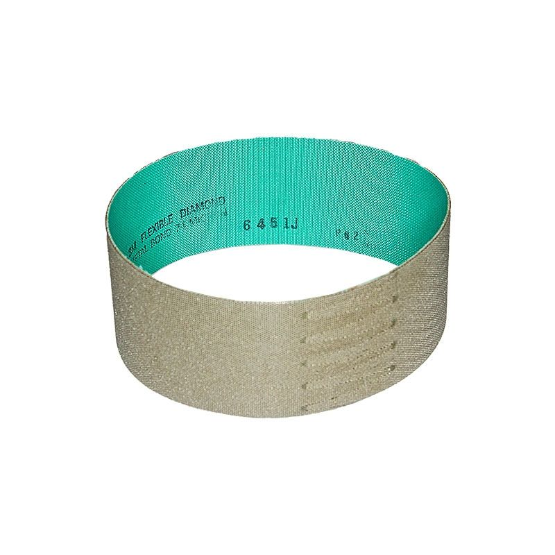 3M 2-1/2 Inch x 18-15/16 Inch Electroplated 200 Grit Diamond Belt
