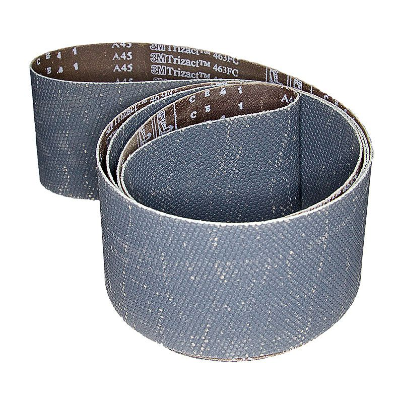 3M 4 Inch x 106 Inch 400 Grit Trizact Silicon Carbide Belt