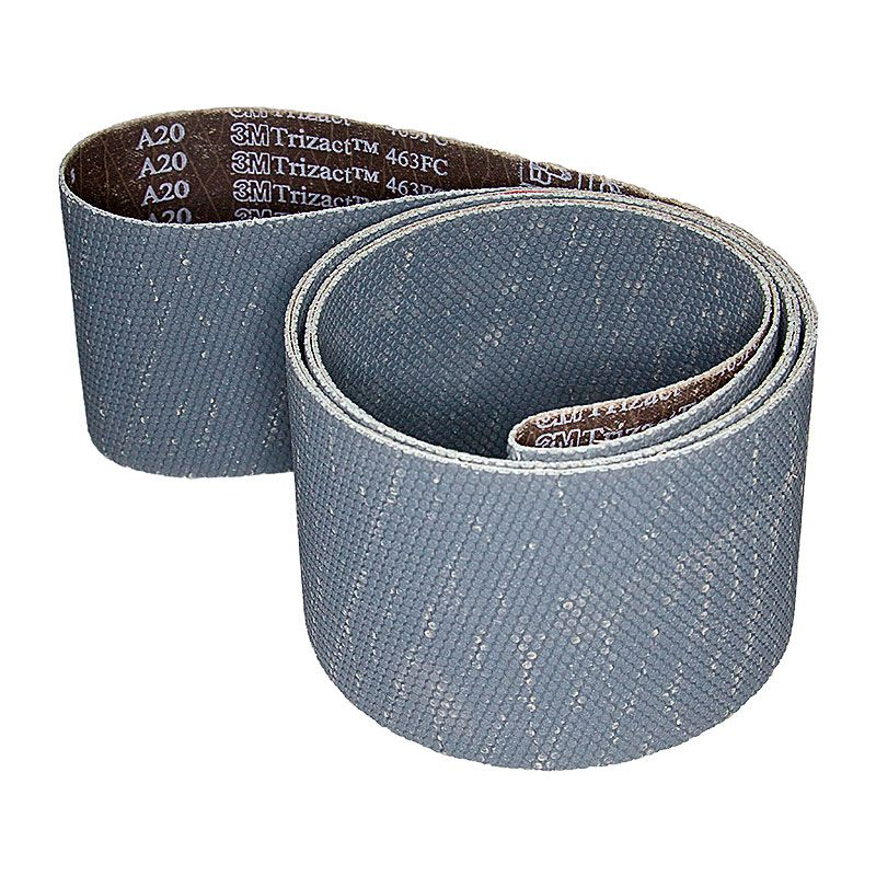 3M 4 Inch x 106 Inch 800 Grit Trizact Silicon Carbide Belt