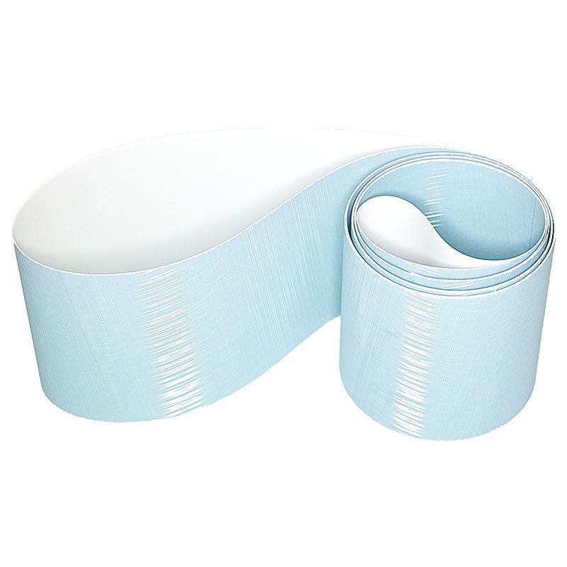 3M 4 Inch x 106 Inch 800 Grit 272LA Blue Trizact Belt - 5 Pack