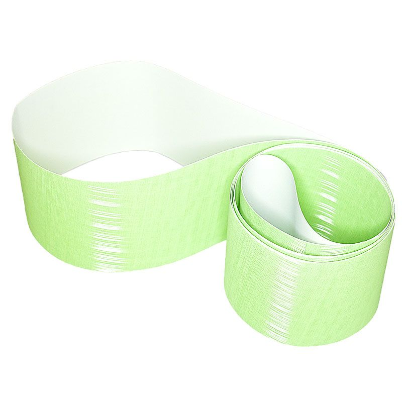 3M 4 Inch x 106 Inch 400 Grit 272LA Green Trizact Belt - 5 Pack