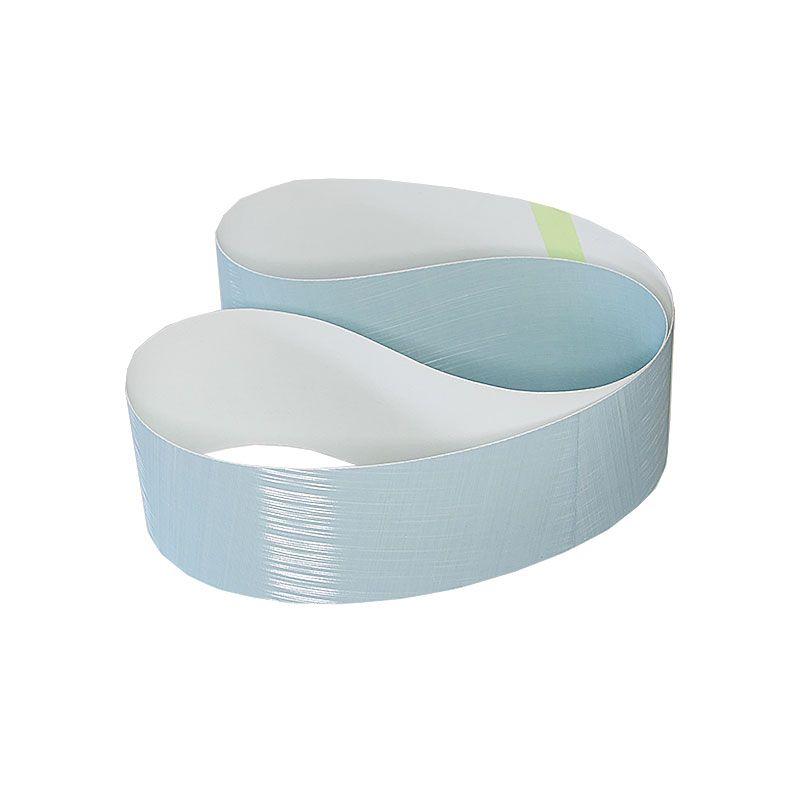 3M 3 Inch x 41-1/2 Inch 800 Grit Blue Trizact Belt
