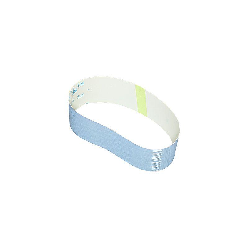 3M 2-1/2 Inch x 18-15/16 Inch 800 Grit Blue Trizact Belt - 5 Pack