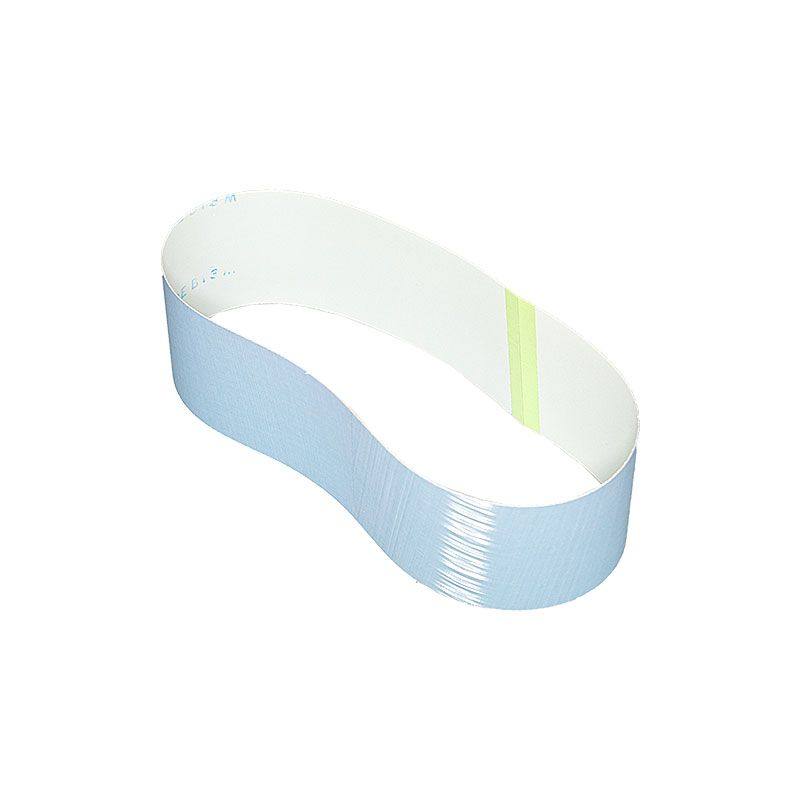 3M 3 Inch x 25-7/32 Inch 800 Grit Blue Trizact Belt - 5 Pack