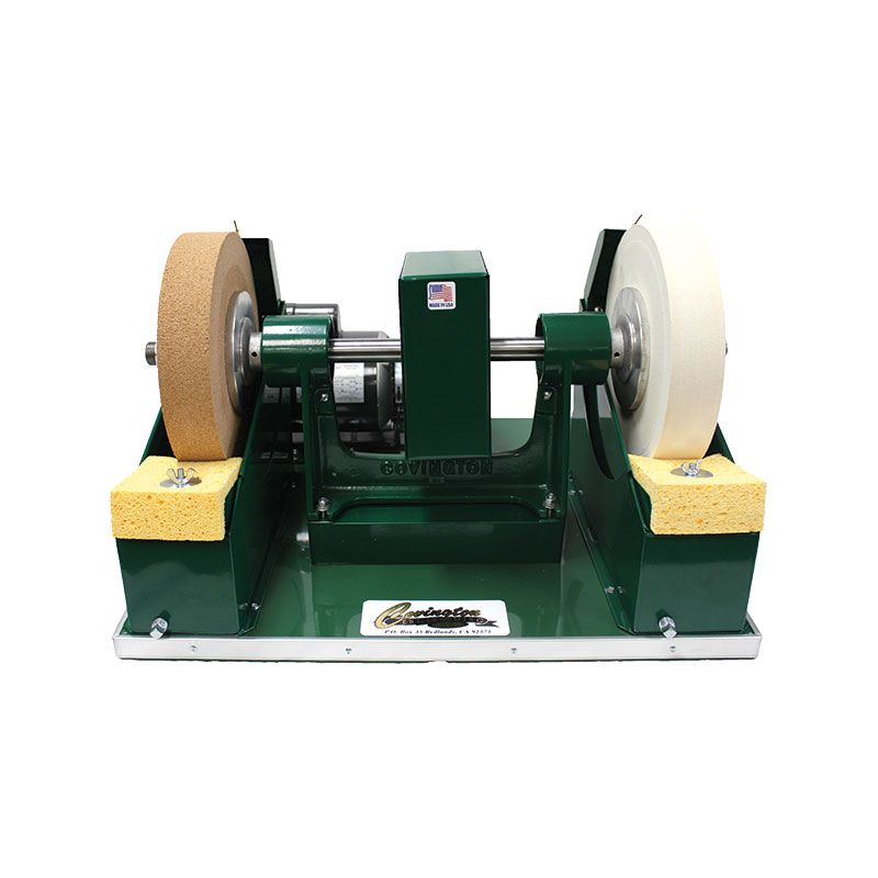 Covington 5050 10 Inch Cork and Felt Polishing Station