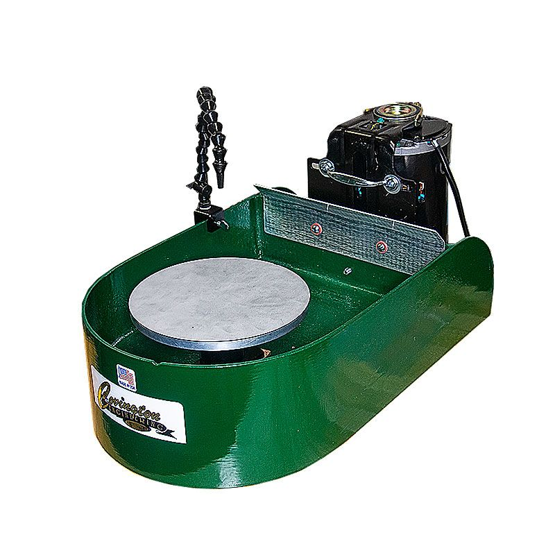8 Inch Maxi-Lap Grinder with Steel Wheel Head