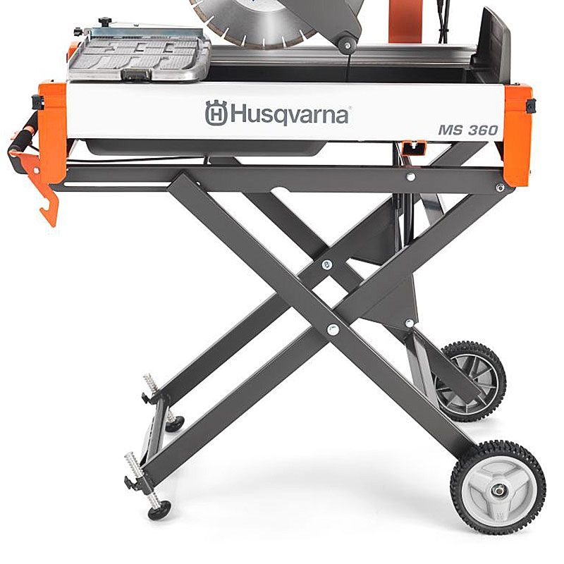 Rolling Cart for Husqvarna MS 360 Saw