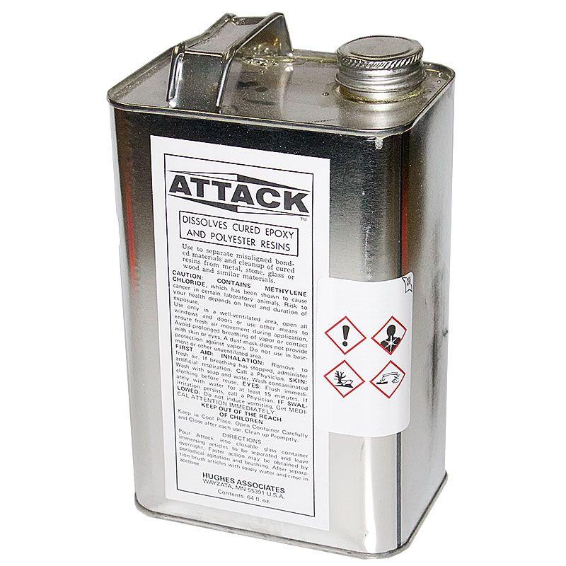 1/2 Gallon Can ATTACK Epoxy Solvent