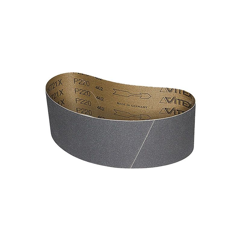 2-1/2 Inch x 18-15/16 Inch 220 Grit Silicon Carbide Belt