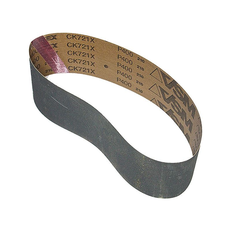 3 Inch x 25-7/32 Inch 400 Grit Silicon Carbide Belt