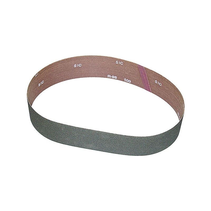 3 Inch x 41-1/2 Inch 100 Grit Silicon Carbide Belt