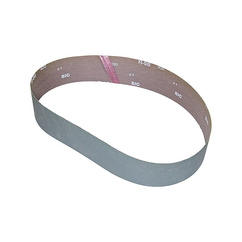 3 Inch x 41-1/2 Inch 400 Grit Silicon Carbide Belt