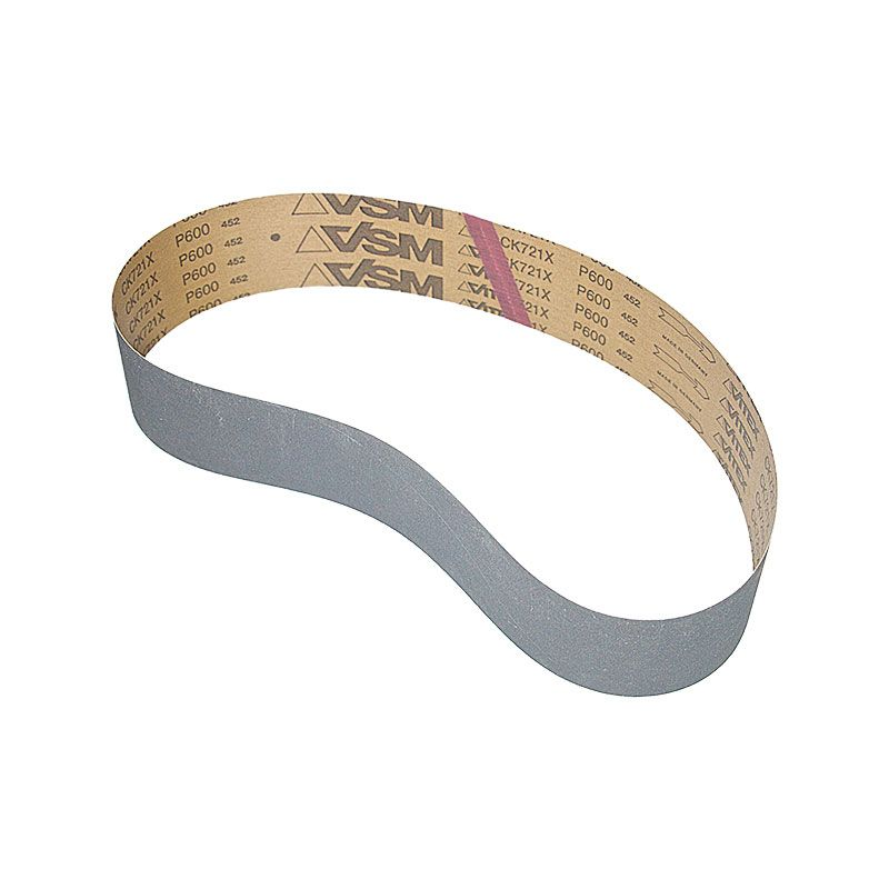 3 Inch x 41-1/2 Inch 600 Grit Silicon Carbide Belt