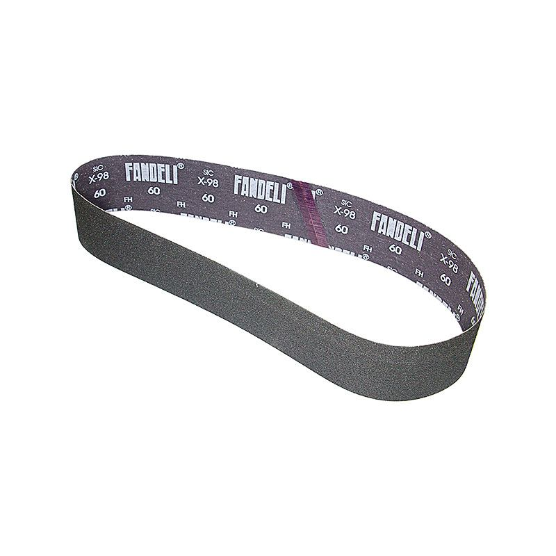 3 Inch x 41-1/2 Inch 60 Grit Silicon Carbide Belt