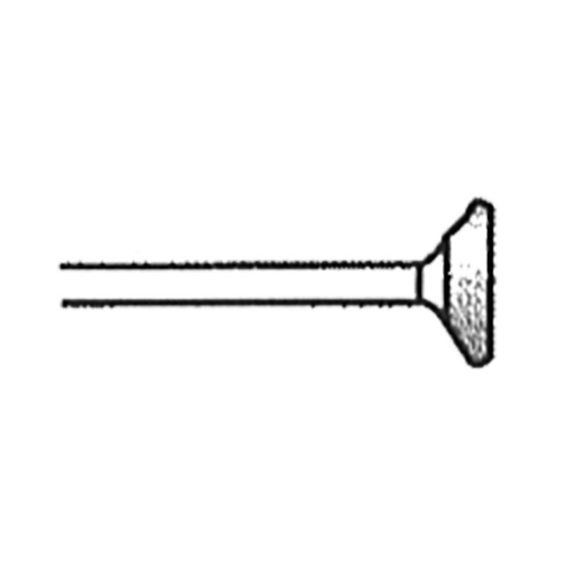 Valvehead 0.37 Inch Tip 120 Grit Diamond Point with 1/8 Inch Shank