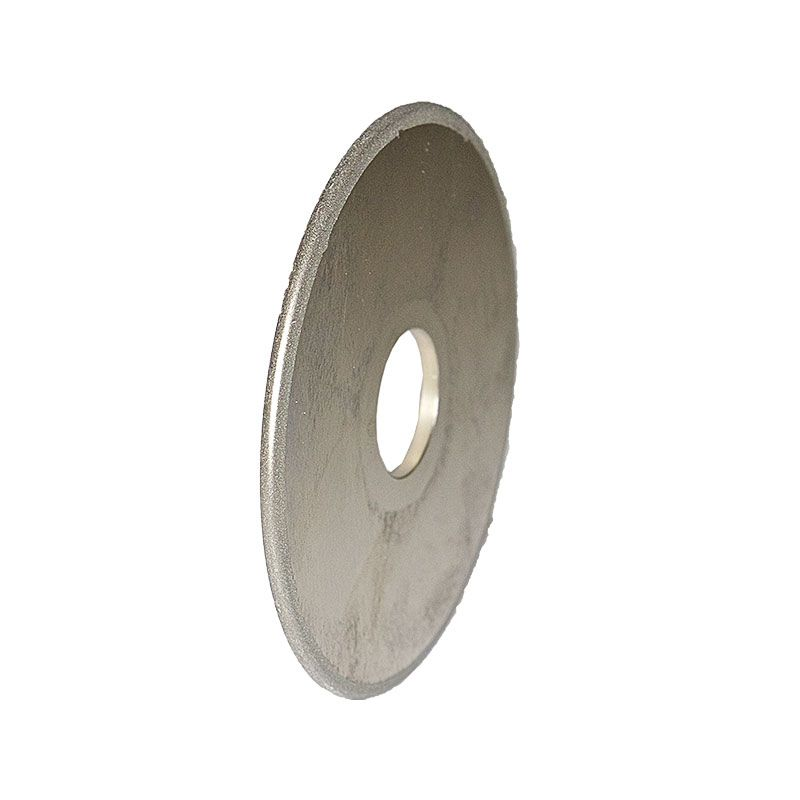 4 Inch x 1/8 Inch Full Circle 600 Grit Electroplated Diamond Wheel