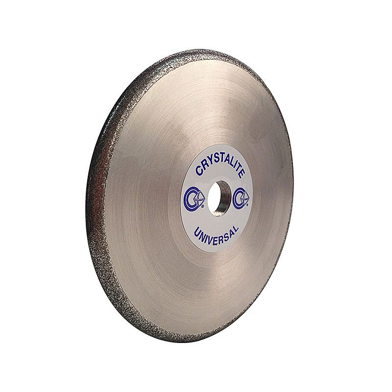 4 Inch x 1/4 Inch Full Circle 100 Grit Electroplated Diamond Wheel