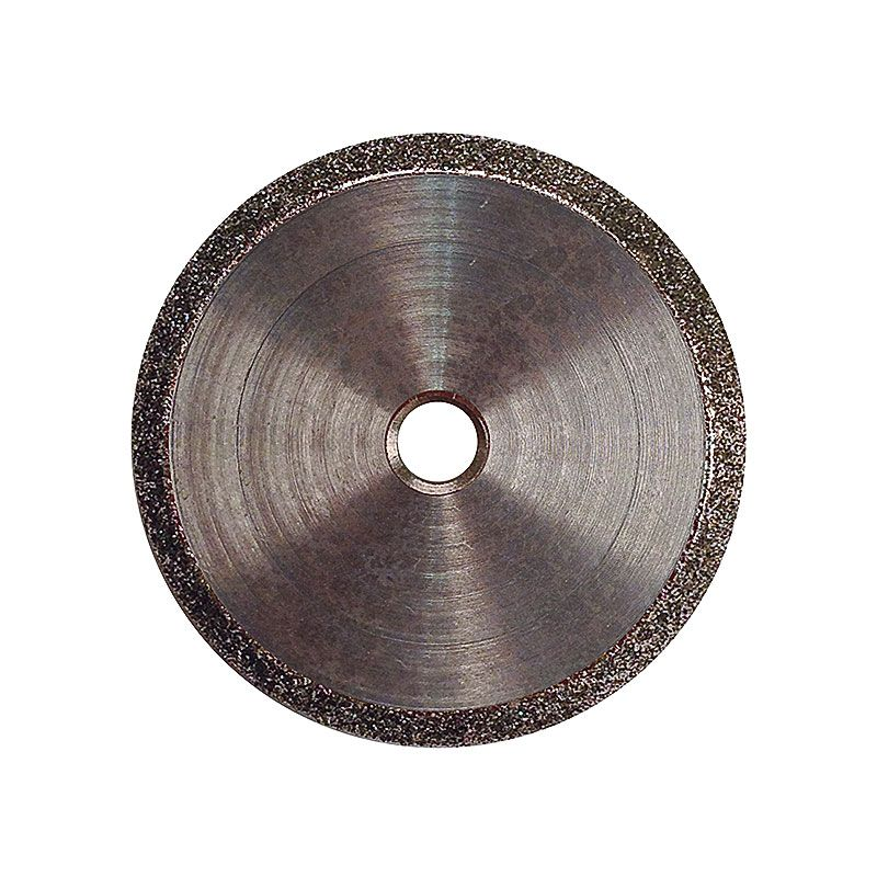 4 Inch x 1/4 Inch V-Wheel 100 Grit Electroplated Diamond Wheel
