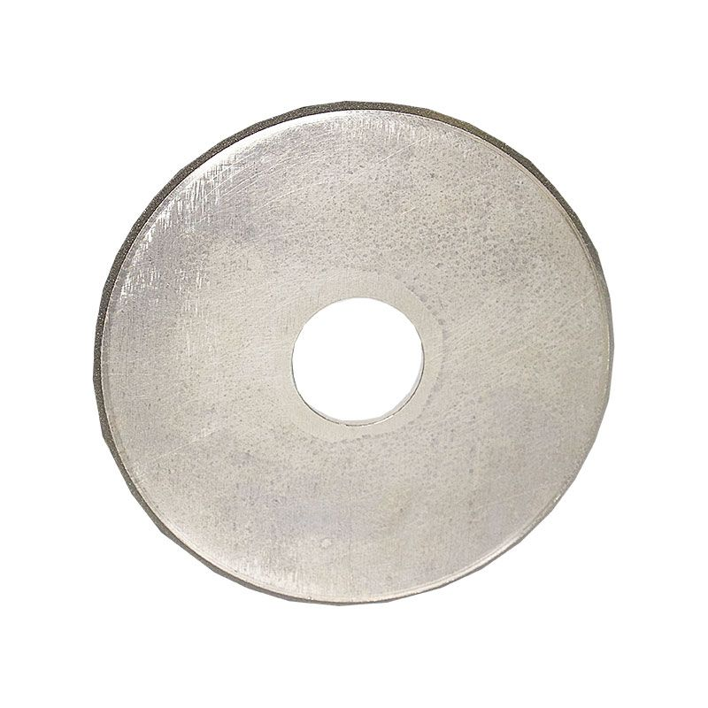 4 Inch x 1/8 Inch Full Circle 100 Grit Electroplated Diamond Wheel