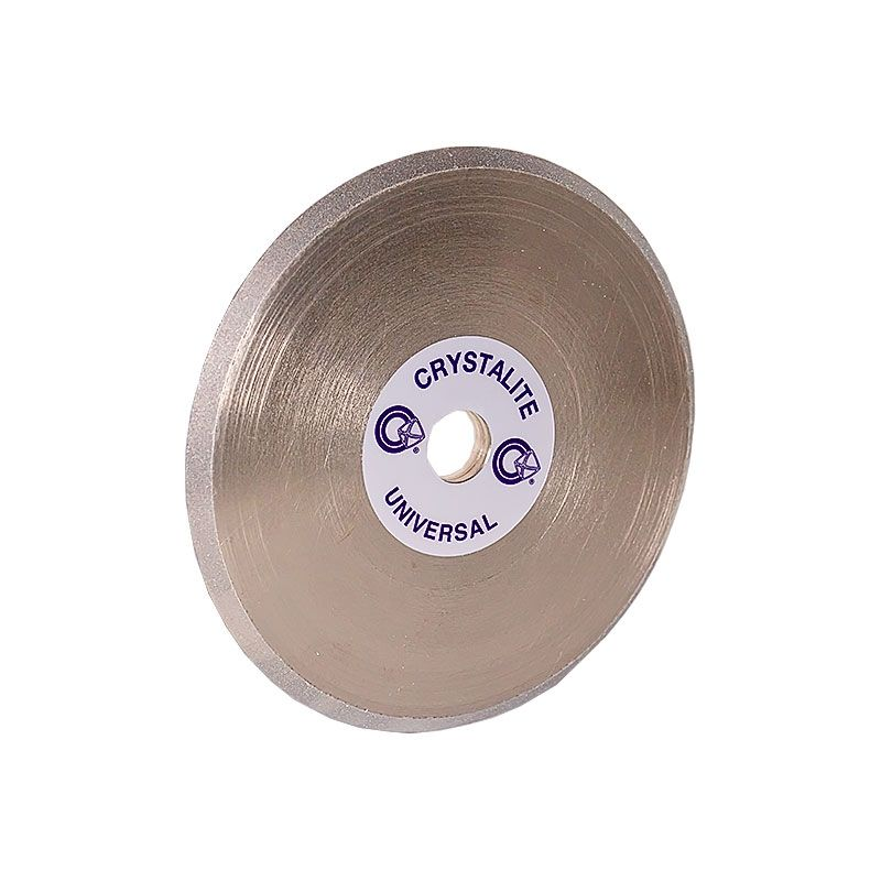 4 Inch x 1/4 Inch V-Wheel 600 Grit Electroplated Diamond Wheel