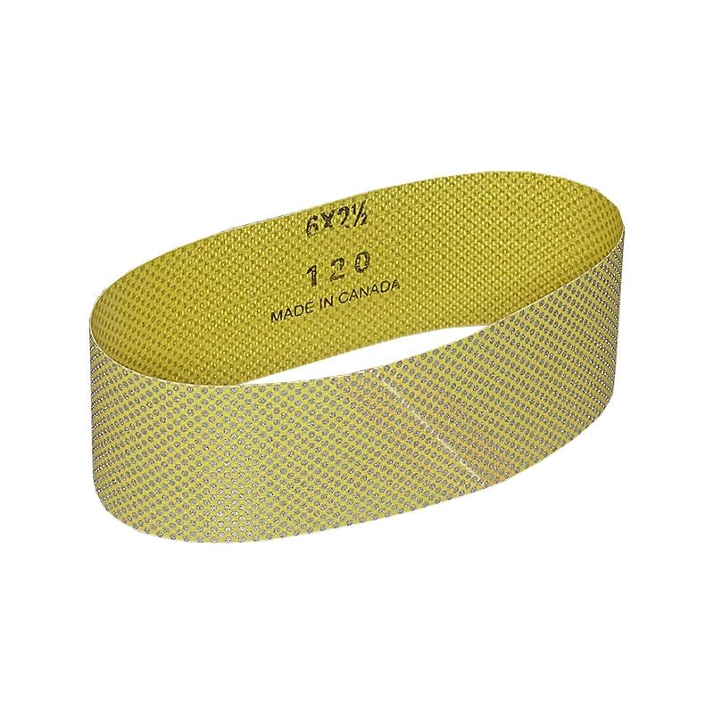 2-1/2 Inch x 18-15/16 Inch 120 Grit Electroplated Diamond Belt