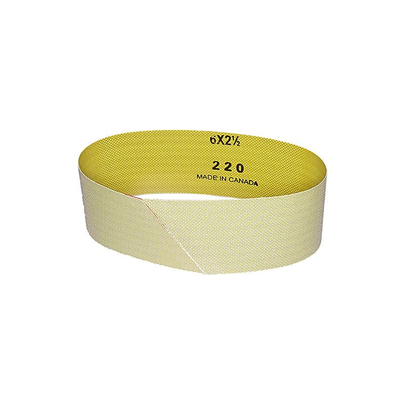 2-1/2 Inch x 18-15/16 Inch 220 Grit Electroplated Diamond Belt