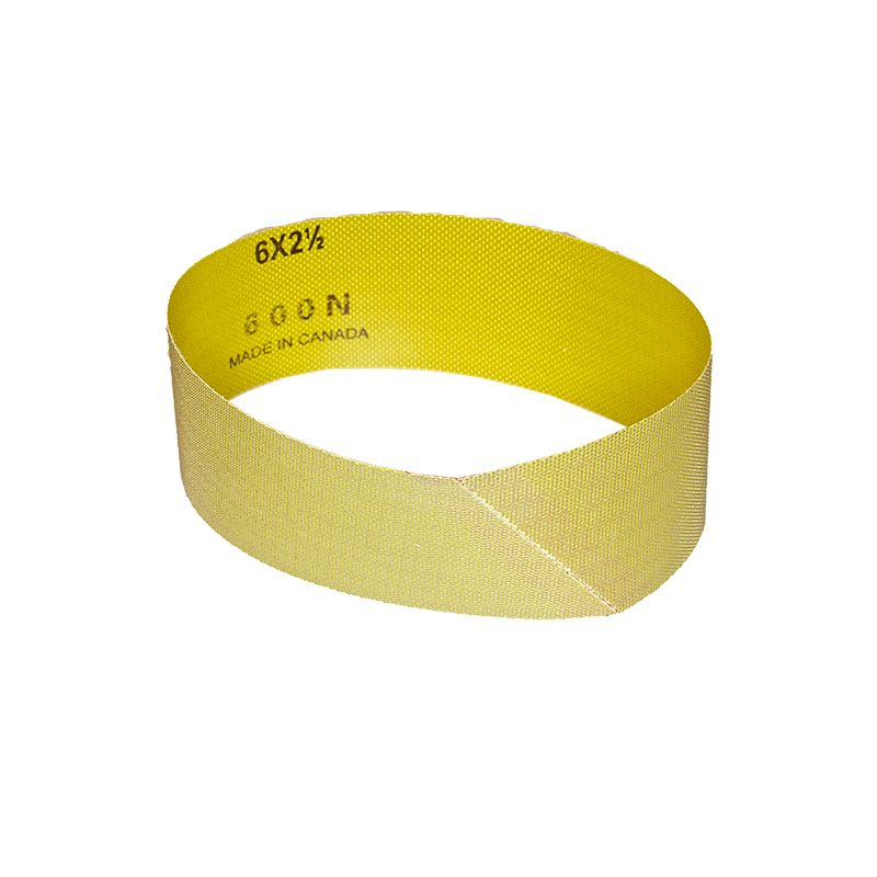 2-1/2 Inch x 18-15/16 Inch 600 Grit Electroplated Diamond Belt