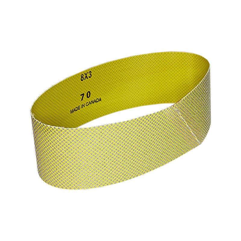 3 Inch x 25-7/32 Inch 70 Grit Electroplated Diamond Belt