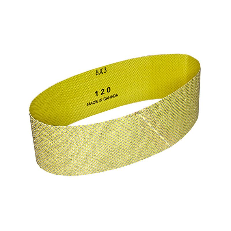 3 Inch x 25-7/32 Inch 120 Grit Electroplated Diamond Belt