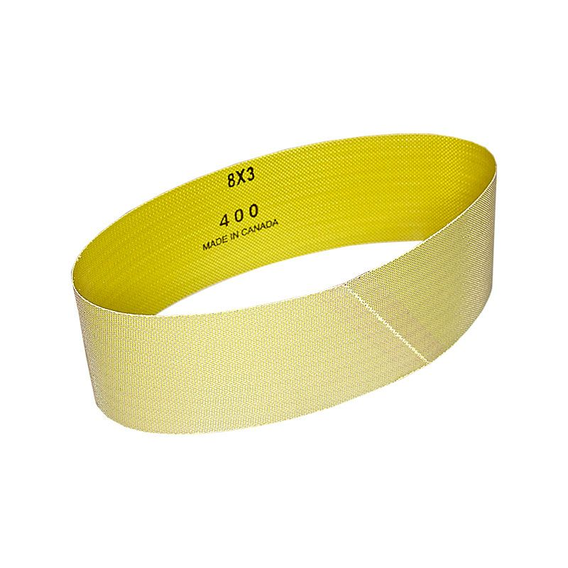 3 Inch x 25-7/32 Inch 400 Grit Electroplated Diamond Belt