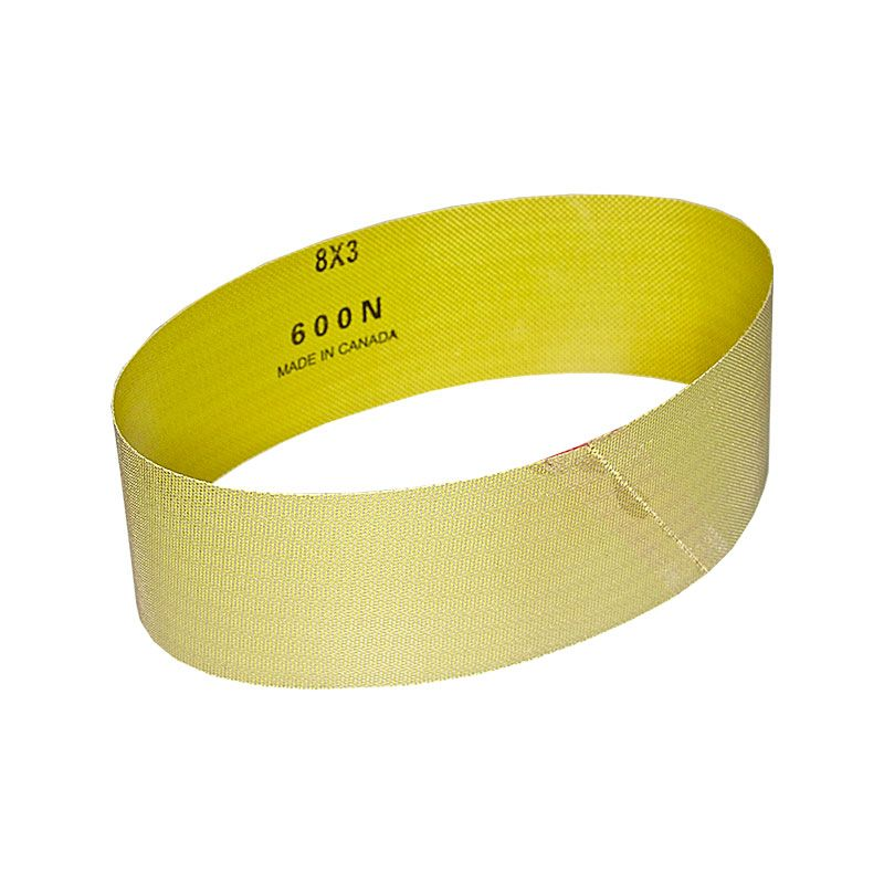 3 Inch x 25-7/32 Inch 600 Grit Electroplated Diamond Belt