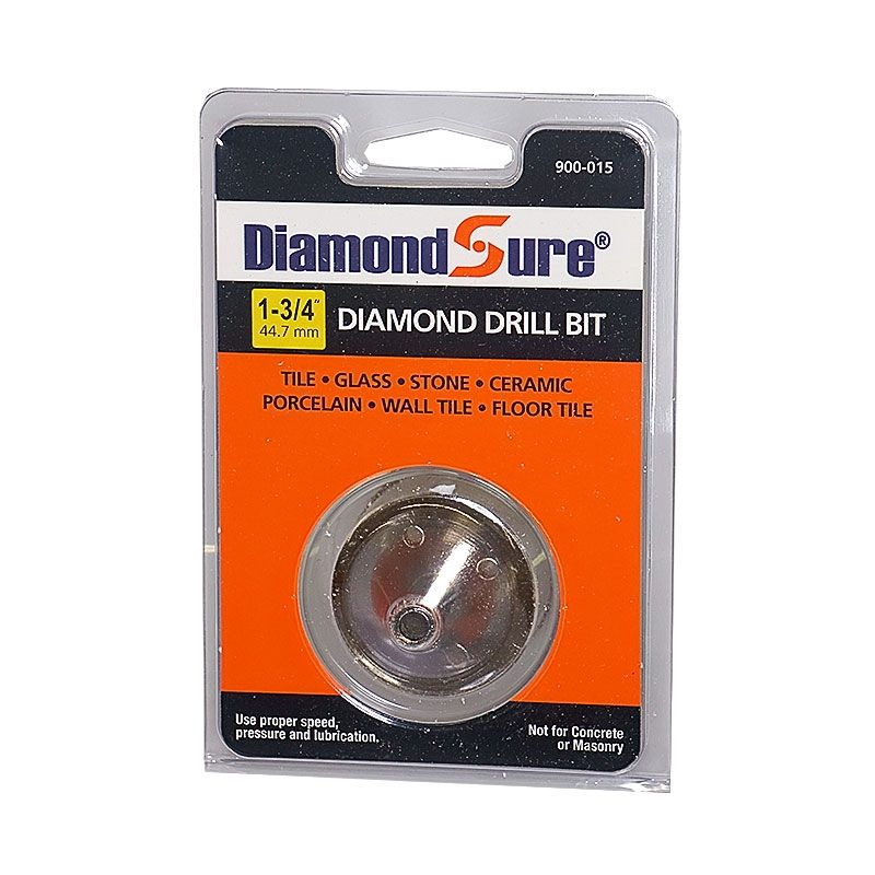 1-3/4 Inch Diamond Sure Electroplated Diamond Core Drill