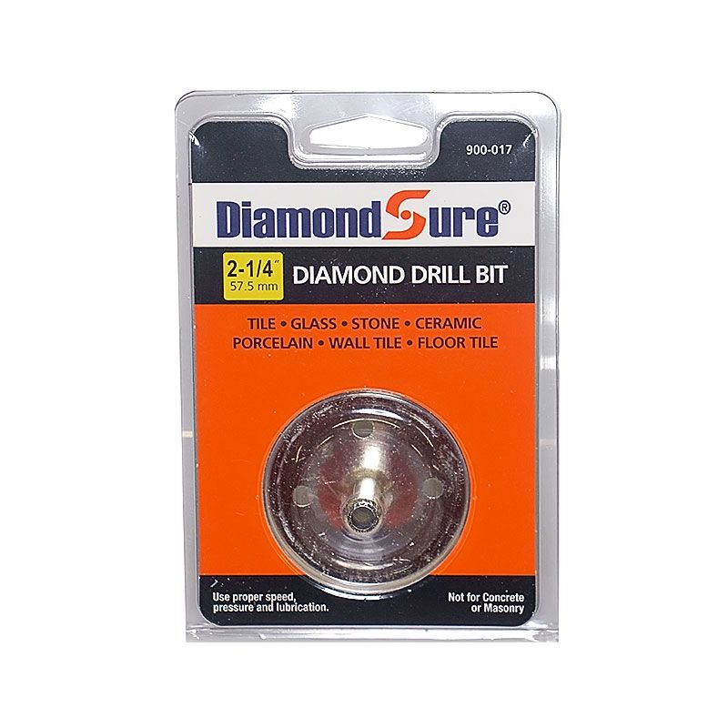 2-1/4 Inch Diamond Sure Electroplated Diamond Core Drill