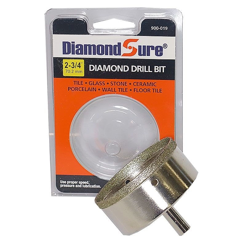 2-3/4 Inch Diamond Sure Electroplated Diamond Core Drill