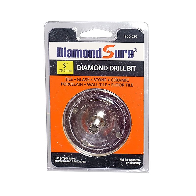 3 Inch Diamond Sure Electroplated Diamond Core Drill