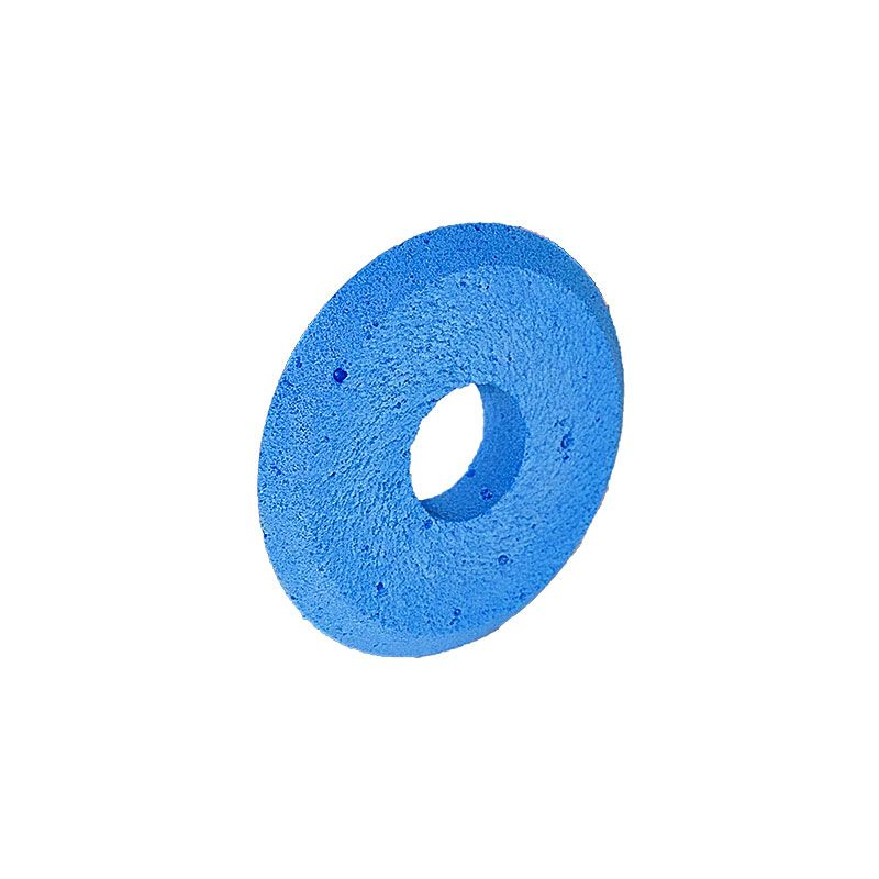3 Inch x 1/2 Inch V groove (Miter) Blue Polpur Wheel