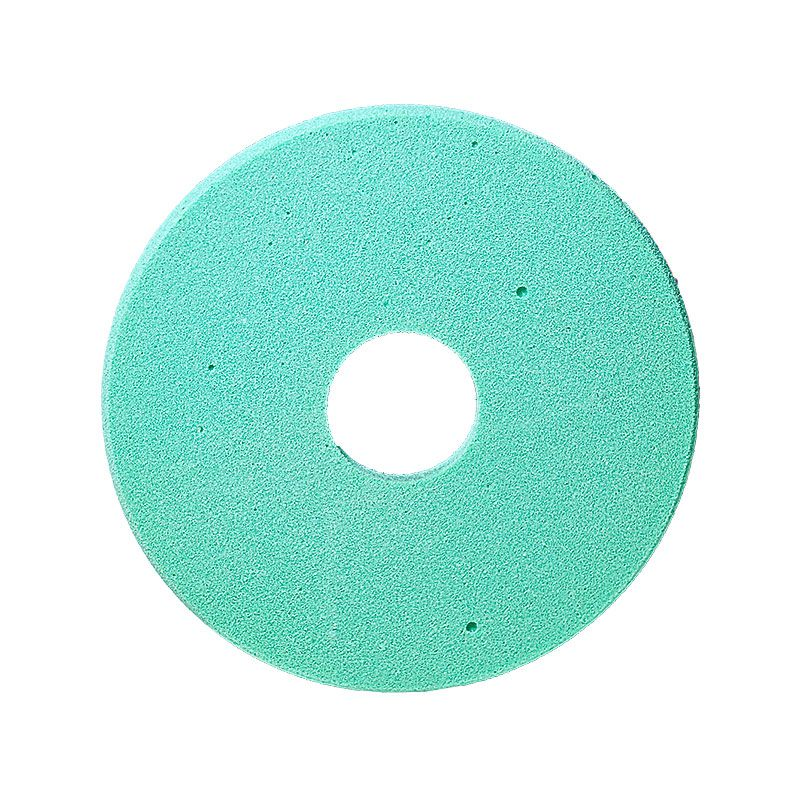4 Inch x 1/4 Inch Polpur Lapi-T Full Circle Green Wheel