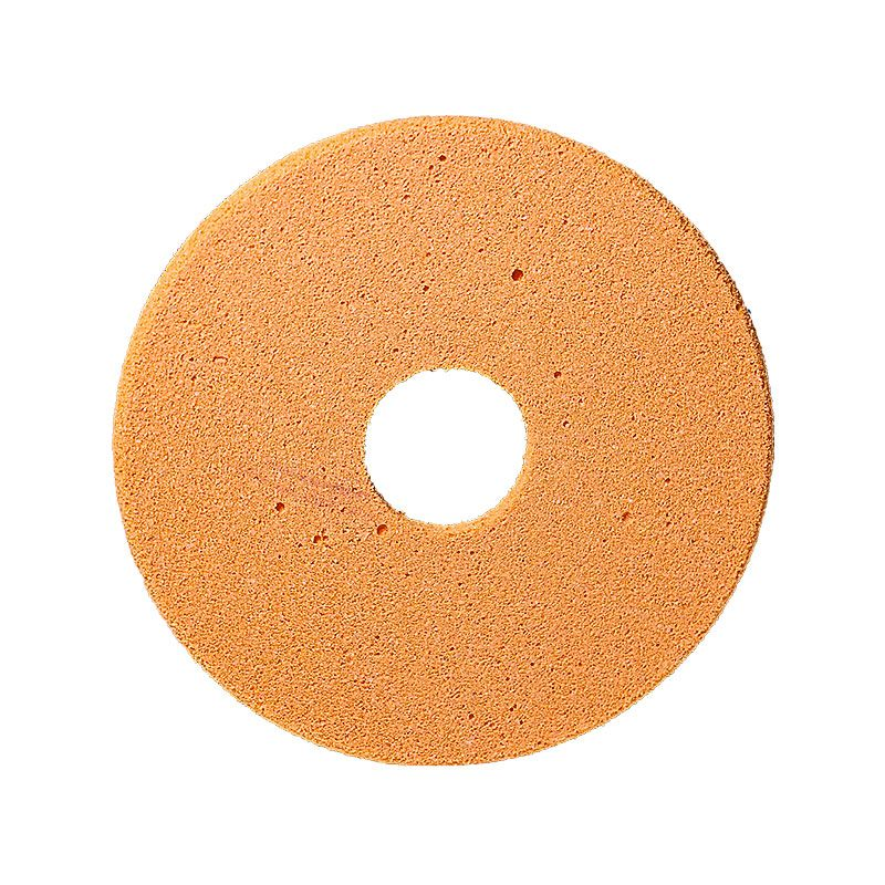 4 Inch x 1/4 Inch Polpur Lapi-T Full Circle Orange Wheel