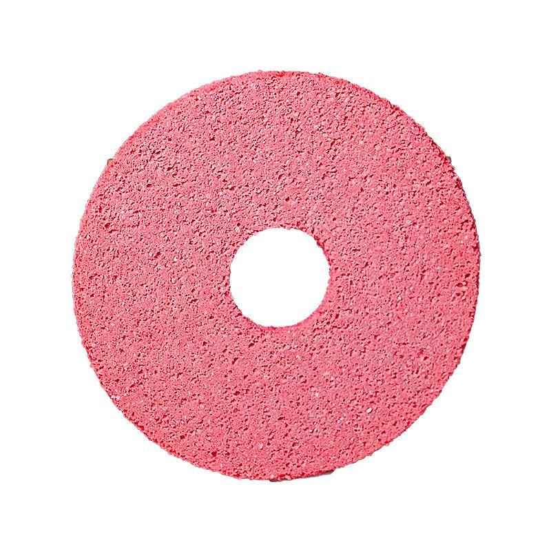 4 Inch x 1/4 Inch Polpur Lapi-T Full Circle Pink Wheel