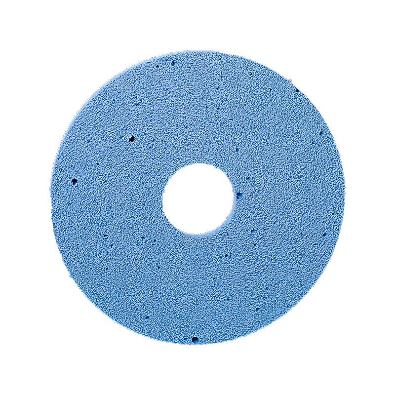 4 Inch x 1/4 Inch Polpur Lapi-T Straight Edge Blue Wheel