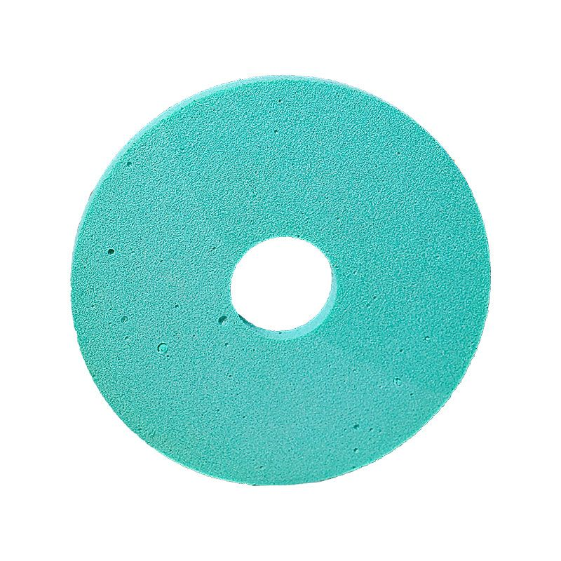 4 Inch x 1/4 Inch Polpur Lapi-T Straight Edge Green Wheel